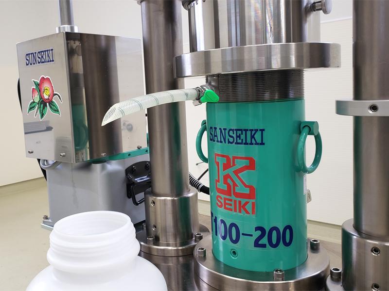 自社JAS認定搾油所工場